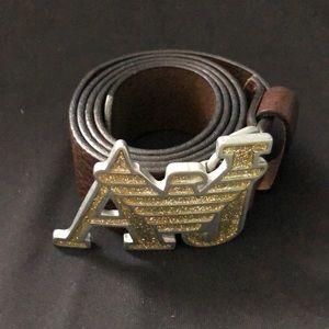 Leather Armani Jeans belt